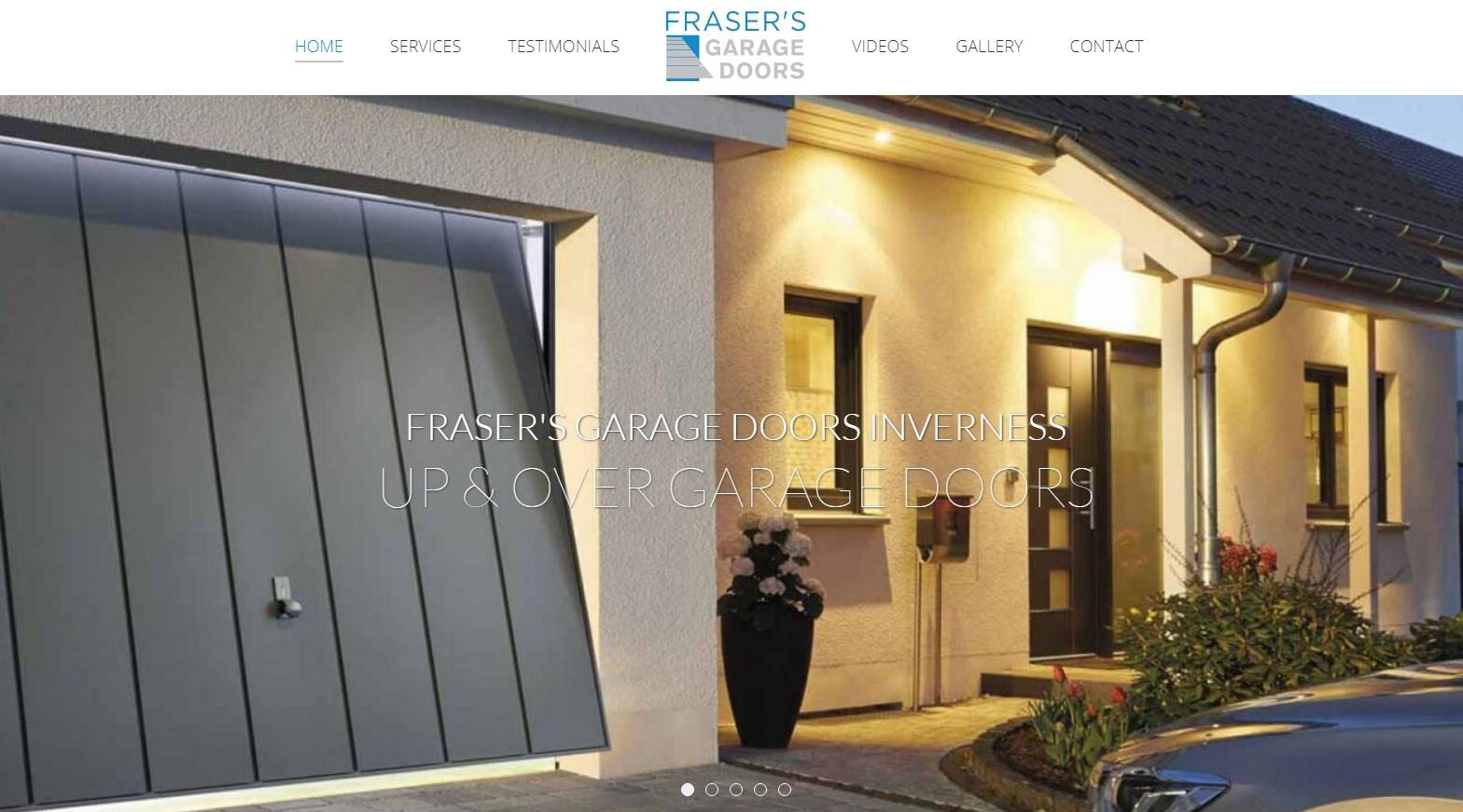 Garage Door Repairs Installation Inverness Frasers Garage Doors
